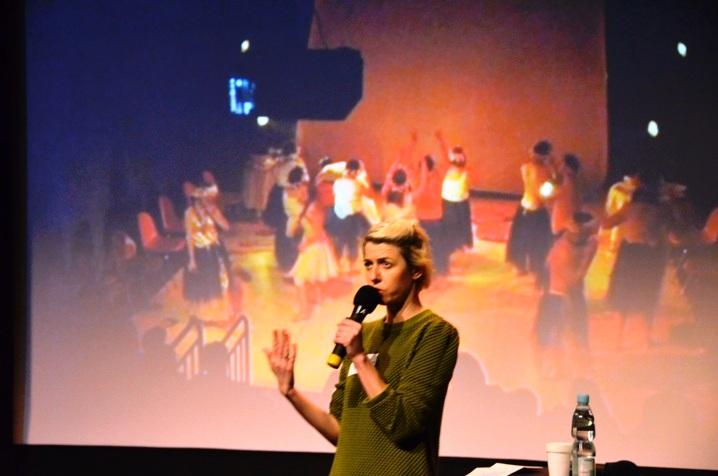 p. Justyna Sobczyk, Teatr 21
